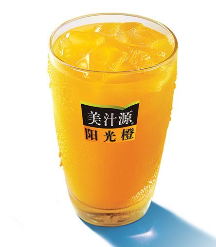 麦当劳美汁源阳光橙