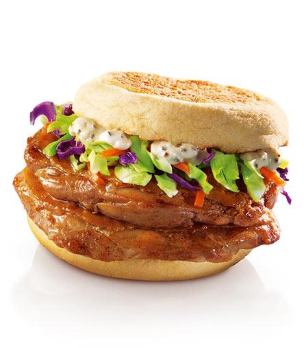 麦当劳双层原味板烧鸡腿麦满分