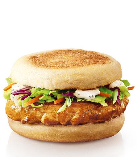 麦当劳原味板烧鸡腿麦满分