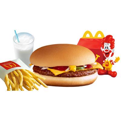 麦当劳开心乐园餐(吉士汉堡包套餐)