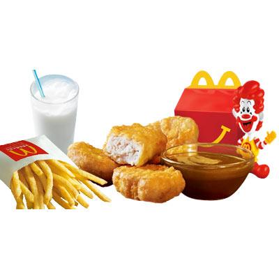 麦当劳开心乐园餐(麦乐鸡套餐)
