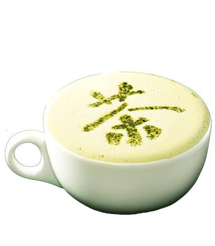麦当劳鲜奶抹茶