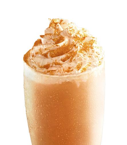麦当劳阿萨姆奶茶雪冰
