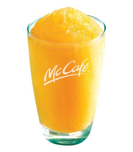 麦当劳芒果雪冰
