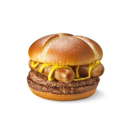 麦当劳不素之霸双层牛肉堡