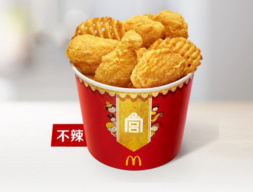 麦当劳金拱门桶A