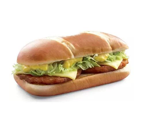麦当劳香满嫩鸡加长堡