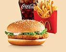 麥當勞麥香雞超值套餐