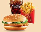 麥當勞麥香雞超值套餐(大)