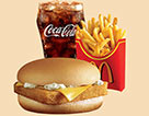 麥當勞麥香魚超值套餐(大)