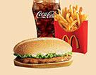 麥當勞原味板燒雞腿堡套餐