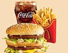 麥當勞巨無霸超值套餐(大)