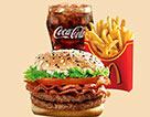 麥當勞培根蔬萃雙層牛堡超值套餐(大)
